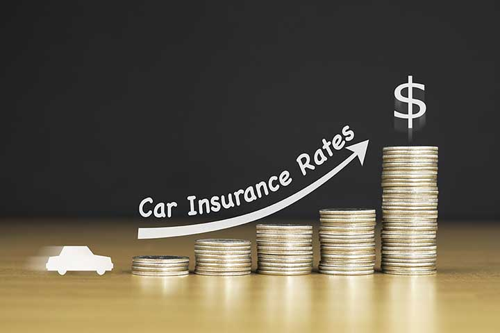 Car insurance rates on the rise VSI and GAP affected