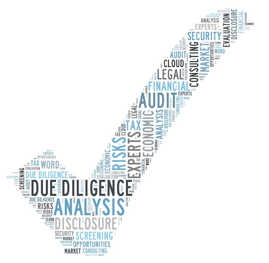 Due Diligence for selecting vendors golden eagle inusrance