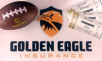 Golden Eagle Indiana Credit Union League COnvention Giveaway