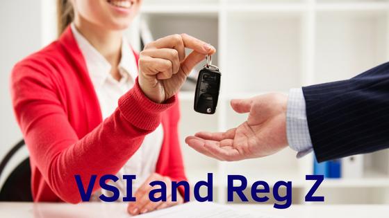 VSI and Reg Z